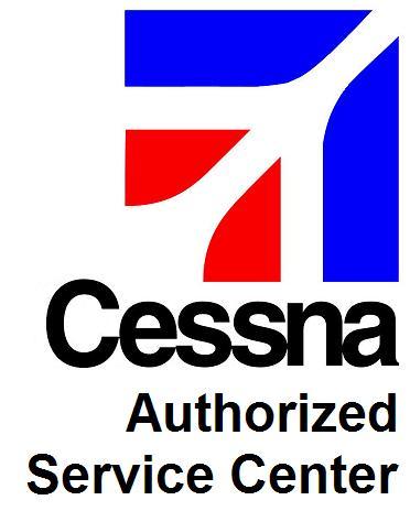 Logotipo acreditativo como estación de servicio autorizado de Cessna